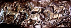 Running Horses 14 Inch x 36 Inch