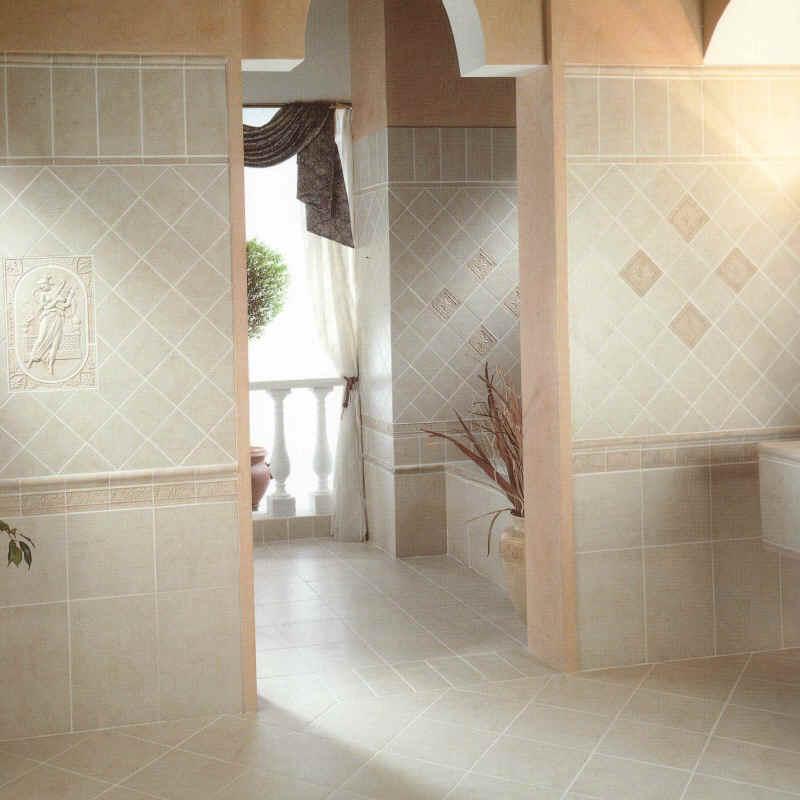 Deserti ceramic tile installation
